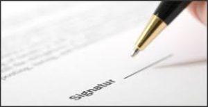 underskrivkontrakt